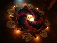 Karthigai rangoli