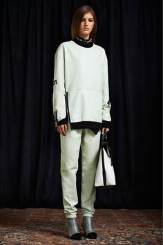 3.1 Phillip Lim pre-fall '13: oversized tipped sweatshirt with matching pants