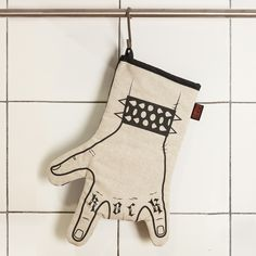 Other – Rock'n'roll kitchen glove -LEFT HAND – a unique product by we-love-rock on DaWanda