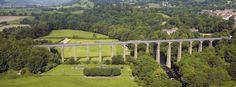 Pontcysyllte Aqueduct. Wales