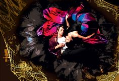 Carney and Damiano as the star-crossed Peter and Mary Jane.