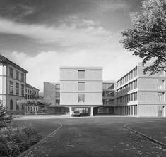 Architectural Visualization for Gäumann Lüdi von der Ropp in classic black and white and full symmetry. Image 3d, New Image, New York, Animation, Competition, Black And White, Architecture, Classic, Black White
