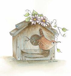 Wren ve Birdhouse