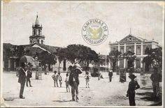 Campinas de Antigamente: DEMOLIÇÃO DA IGREJA DO ROSÁRIO