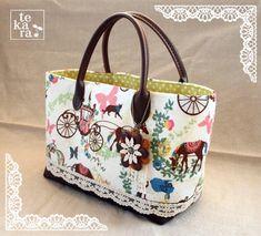 A4用紙で簡単*ミニトートバッグの作り方 バッグ ファッション小物   アトリエ 手芸レシピ16,000件!みんなで作る手芸やハンドメイド作品、雑貨の作り方ポータル
