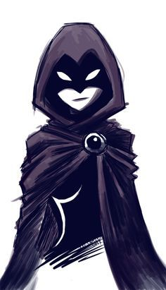 Raven from Teen Titans. I remember watching this show when I was really little. good times :)