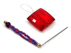 Hey, I found this really awesome Etsy listing at https://www.etsy.com/listing/233107345/stitch-picker-needle-threader-set-purple