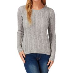 Wolf & York Jumpers - Wolf & York Pagham Jumper - Heather Grey