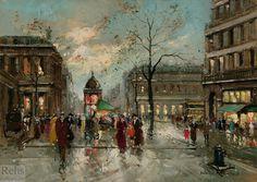 Palais Royal de Antoine Blanchard (Marcel Masson) (1910-1988, France)