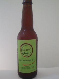 Cerveja Chica Americana IPA, estilo American IPA, produzida por Rooie Dop, Holanda. 7.1% ABV de álcool.