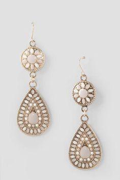 Antigone Beaded Drop Earrings