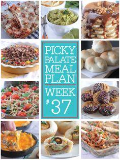 Picky Palate Meal Plan Week 37