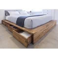 Mash Studios LAX Series Storage Platform Bed