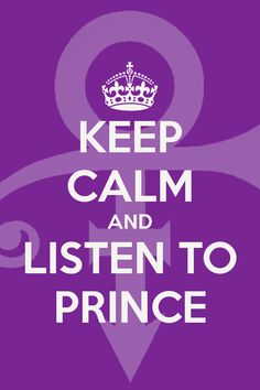 My #keepcalm #prince iphone wallpaper ;)
