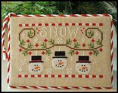 Country Cottage Needleworks - Snowmen Trio – Stoney Creek Online Store