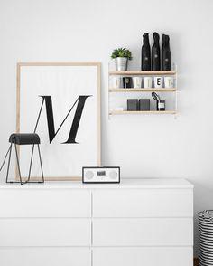 Ikea 'Malm' dressers @typehype_berlin