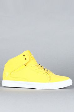 Another yellow pair of shoes to consider.    Plndr - Clothing. Accessories. Plunder.