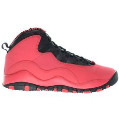 Girls Air Jordan 10 Retro (GS) Big Kids Basketball Shoes Fusion... ($200) ❤ liked on Polyvore featuring shoes