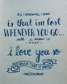 Coldplay, Ink