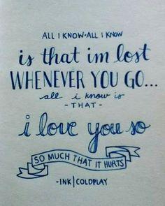 Coldplay, Ink