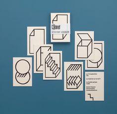 FORVENTE FORSVINDE: branding / business cards