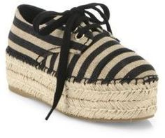 a47d7ad6b4b Alice + Olivia Rory Raffia Platform Espadrille Sneakers Flatform Sneakers