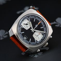 1960s LIP France Ref. 893809 Vintage Chronograph Date Watch Valjoux Cal. 7734