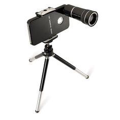 Telescopic iPhone lens