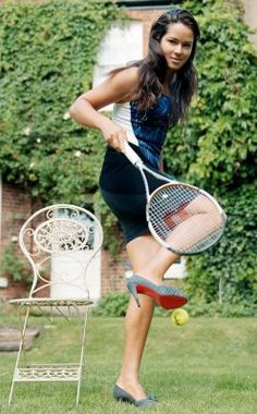 ana ivanovic in vogue- gorgeous and athletic .. love it!