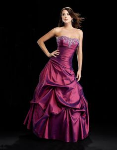 Ball gown strapless neck glamorous taffeta with home coming dress  Read More:    http://www.wholesale-lucky.com/index.php?r=ball-gown-strapless-neck-glamorous-taffeta-with-home-coming-dress.html