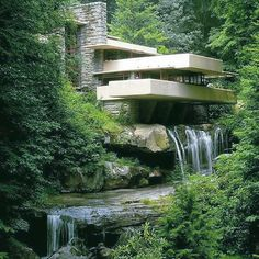 The #fallingwater house desined by Frank Lloyd Wright.  #follow  #f4f  #followme  #followforfollow  #follow4follow  #followback  #me  #love  #like4like #l4l  #photooftheday  #likeforlike  #instagood #cute #beautiful #picoftheday #fashion #girl  #instadaily #fun #smile #bestoftheday #instalike #amazing #design #bestofday #art #style #luxury by the__influencer
