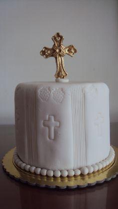 torta personal primera comunion
