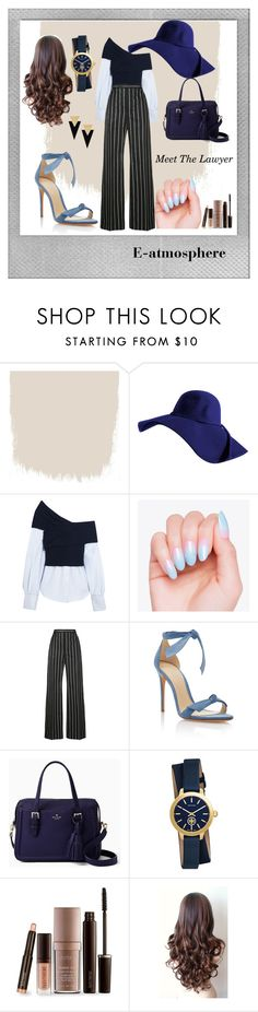 """Blind Daten1 : Meet The Lawyer"" by ellyyulyantikoswara on Polyvore featuring Polaroid, Jacquemus, Balenciaga, Alexandre Birman, Kate Spade, Tory Burch, Laura Mercier and Yves Saint Laurent"