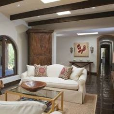 Modern Hacienda style.