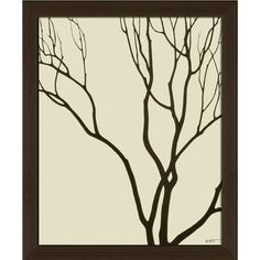 I pinned this Bare Trees Framed Print II from the Cozy Delights event at Joss and Main!