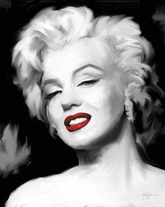 Aragon-Marilyn-Monroe-II-Fertig-Bild-40x50-Wandbild-Kult