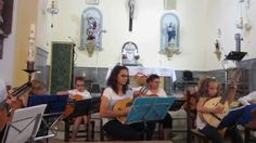 Concierto en Alpujarra de La Sierra con Sixto Moreno  Instrumental 2015