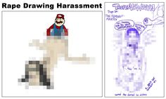 Anita Sarkeesian collection: Image based harassment and visual misogyny - rape drawings Video Ga, Bullying And Harassment, Anti Feminist, Hate, Knowledge, Thankful, Blog, Internet, Drawings