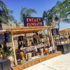 Sneaky Sundays  #mykonos #scorpios #summervibes #sneakysunday #party #beachvibes #travelgram