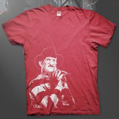 Freddy Krueger - High Quality T Shirt Nightmare on Elm Street Wes Craven Horror
