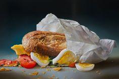 Hyperrealistic Food Paintings