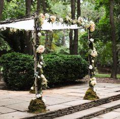 How to Make a Wedding Chuppah.