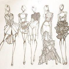 #fashionillustrations #fashion #illustration #sketch #art #design #drawing #artwork #couture #sofiesillustrations