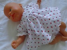 Dolls Clothes, Dress & Panties to fit 36 to 38cm (14 to 15 inch) Baby Dolls £6.99