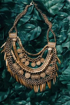 The Diana Multi-Layer Statement Necklace