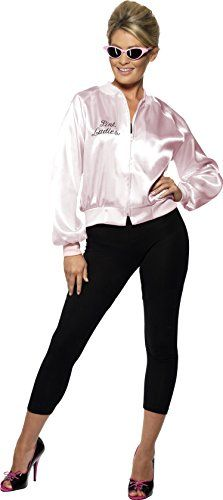 Grease Embroidered Pink Lady Costume Jacket Adult Small