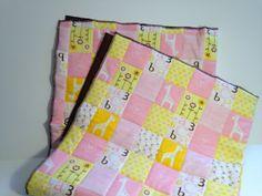 Child or Baby Blanket  Girl by modernarras on Etsy, $74.52