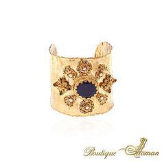 Sapphire Cuff Bracelet by Boutique Ottoman