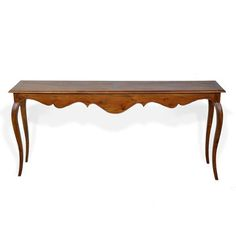 Biaha Console, $395, now featured on Fab. This is totally not even remotely related to my love of mid-century-modern design...But I think the proportions are wonderful and the lines are lovely and fluid...and not excessive.  So, Baby, it works for me!!