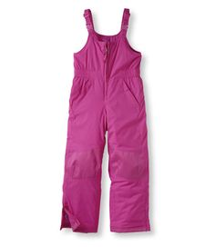 Kids' Cold Buster Snow Bibs: Pants and Bibs . Love the purple color.
